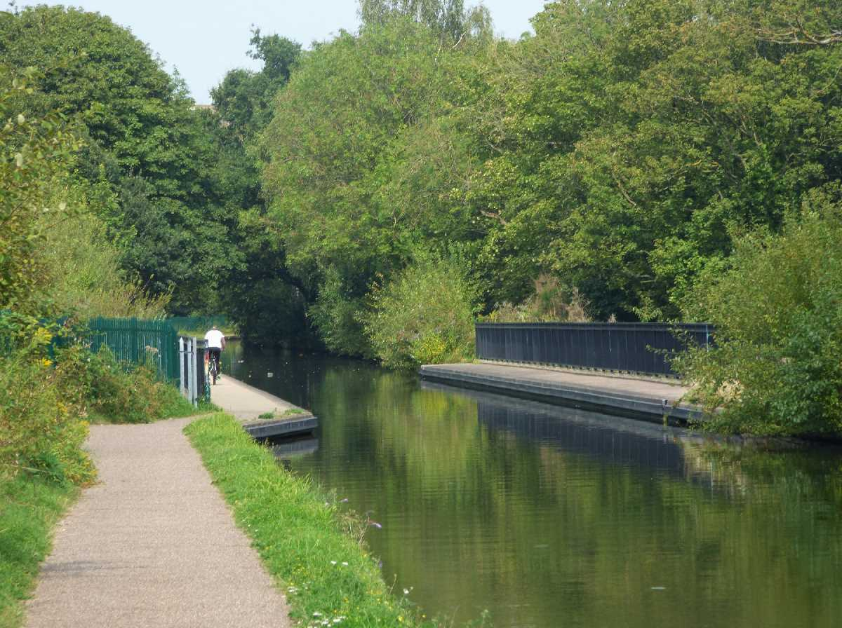 The Ariel Aqueduct on the Worcester & Birmingham Canal in Selly Oak