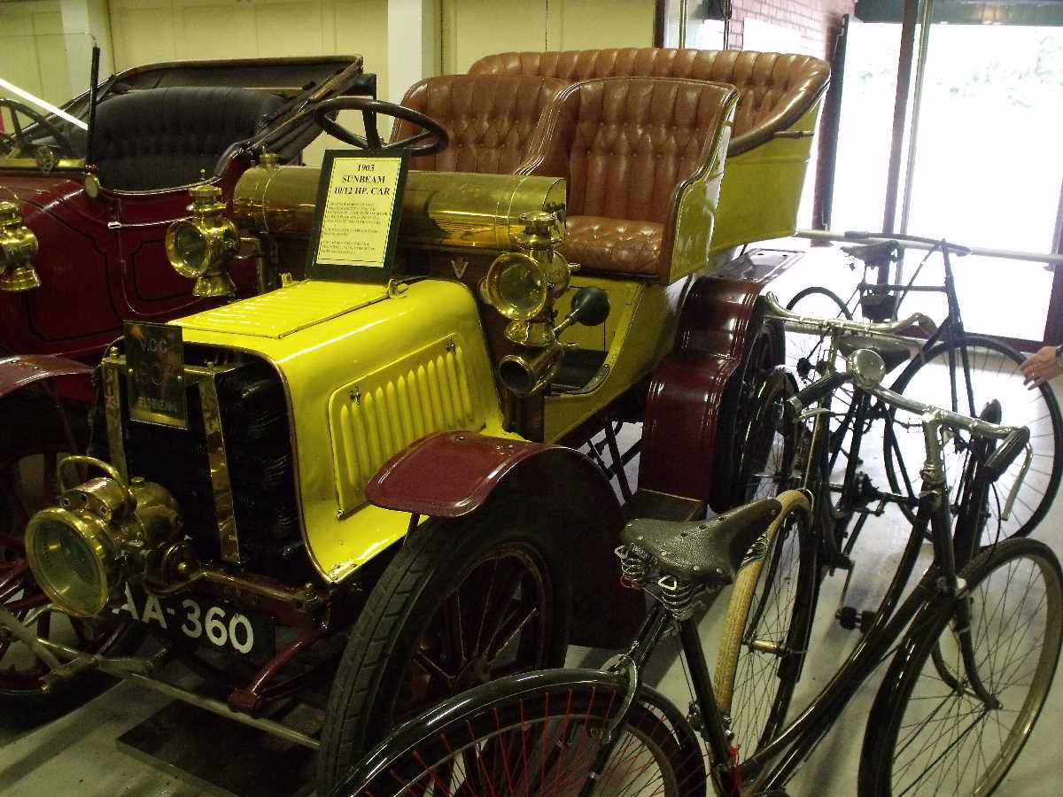 Motor Museum at the Black Country Living Museum