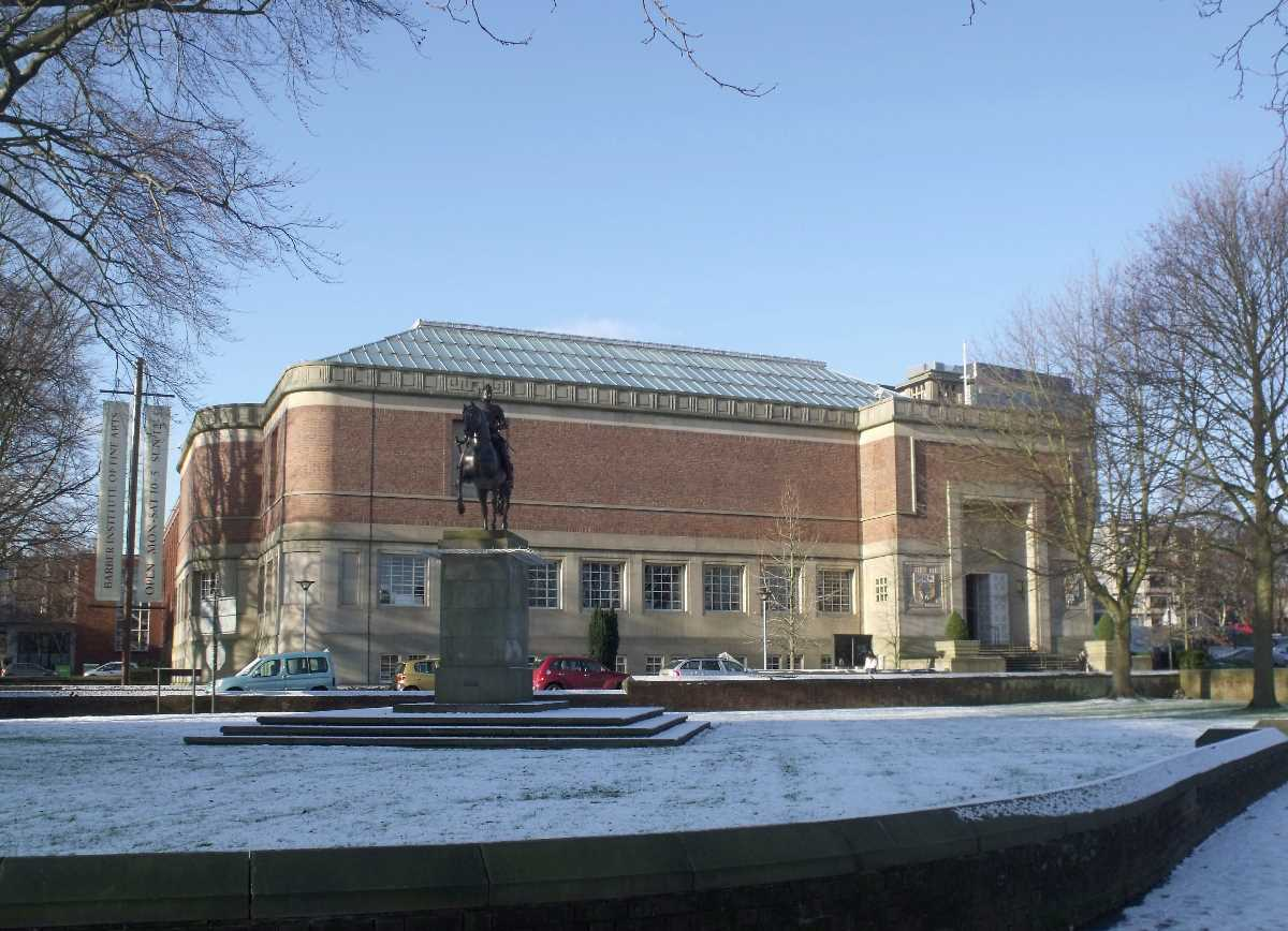 The Barber Institute of Fine Arts at the University of Birmingham