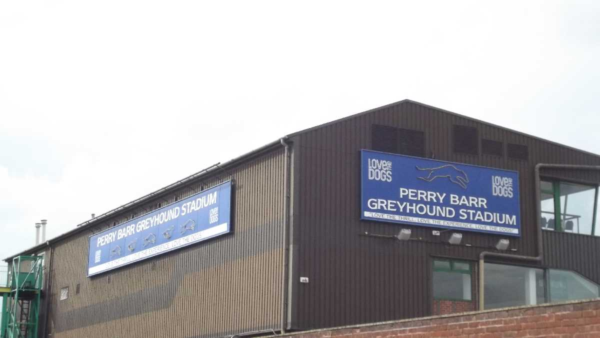 Perry Barr Stadium - Home of Greyhound Racing Club and Birmingham Brummies Speedway