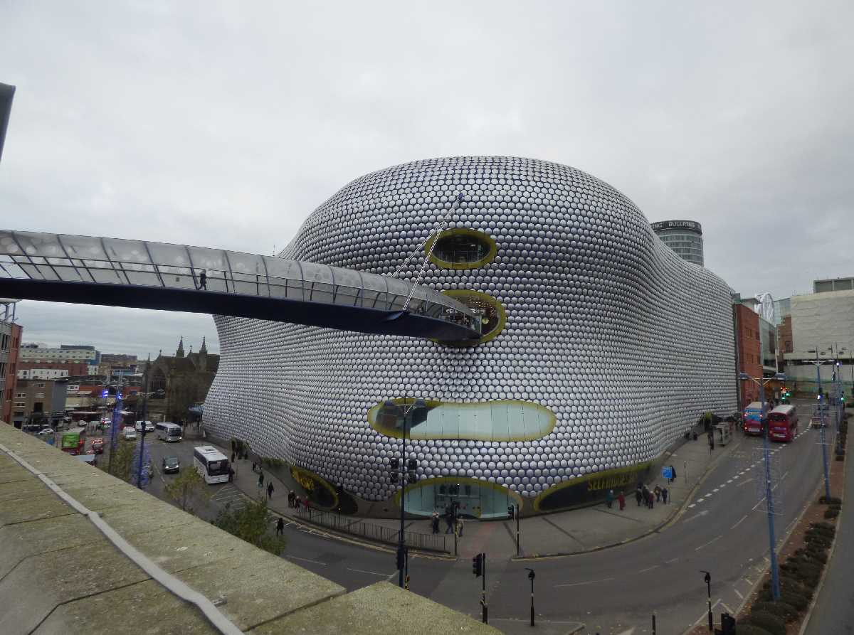 Selfridges the most photographed building of Birmingham!