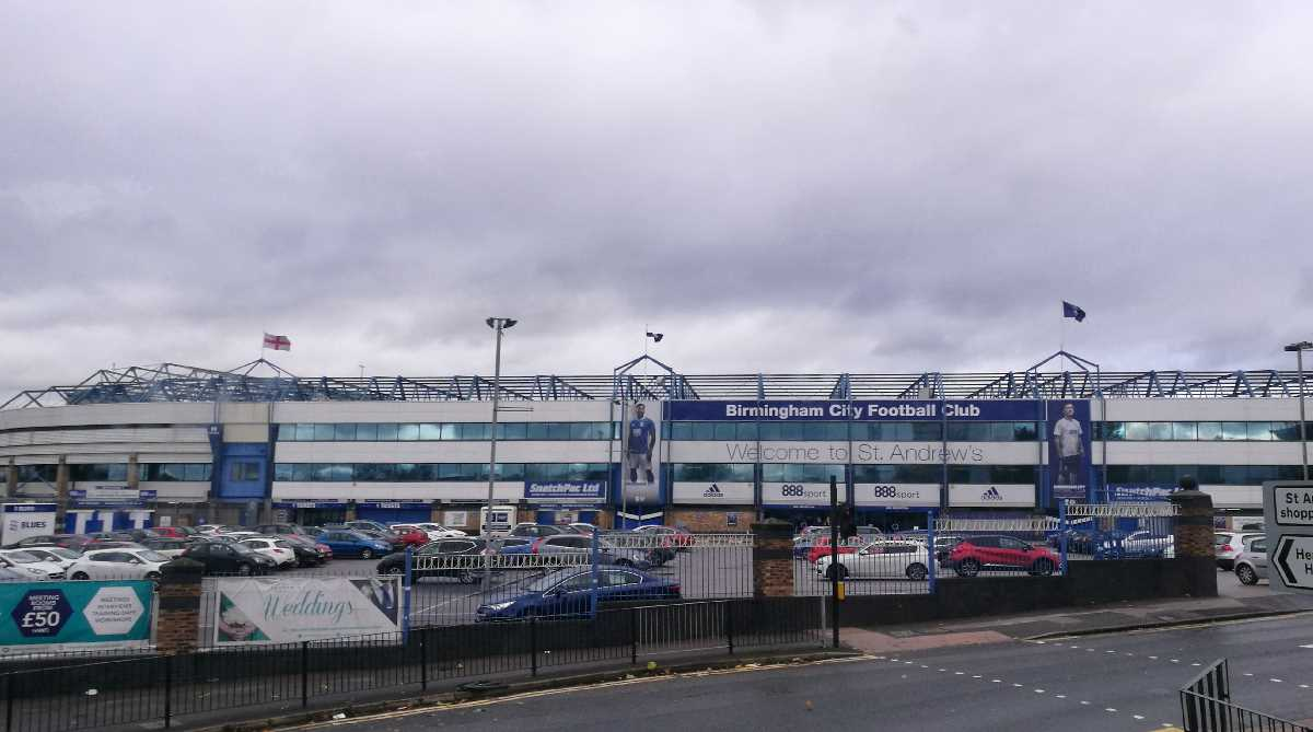 St. Andrews - Home of Birmingham City FC